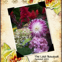 Not-So-Wordless Wednesday: The Last Bouquet