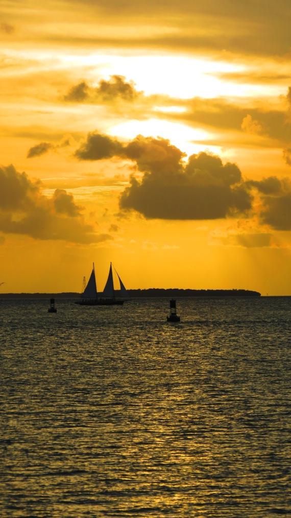 Sunset on Key West.
