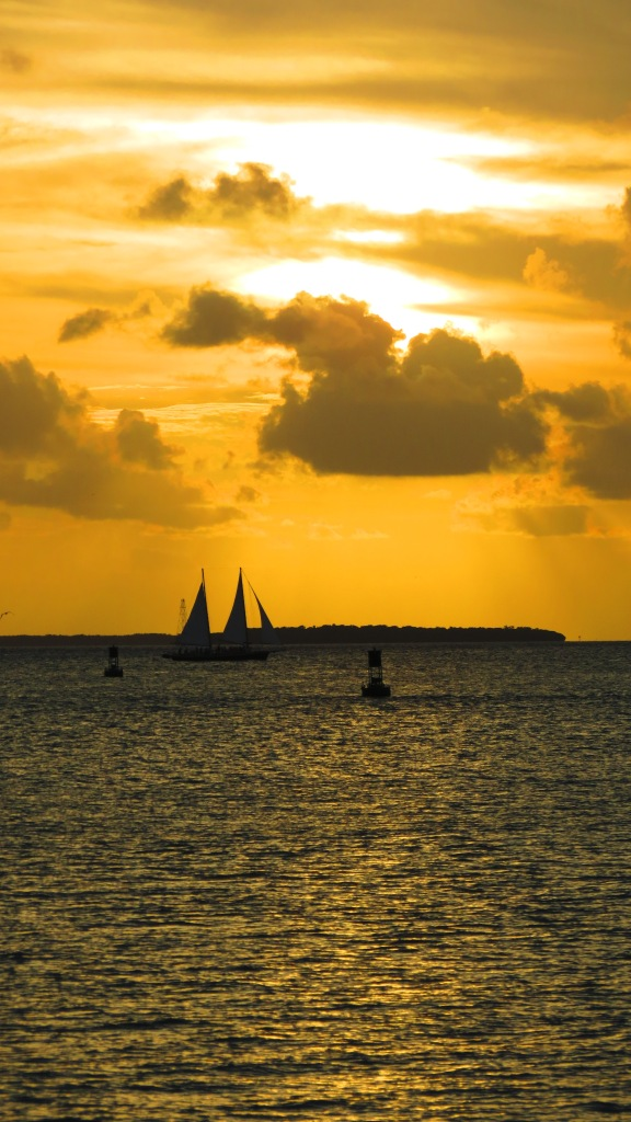 Sunset on Key West.
